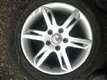 "10 SEAT LEON 1.6 TDI ALTEA CAY GENUINE 16"" ALLOY WHEEL +TYRE BREAKING 1P0601025L"